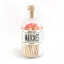 Apothecary Vintage Coral Matches