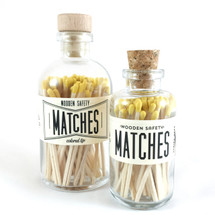 Yellow Matches Apothecary Vintage