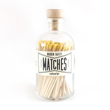 Apothecary Vintage Yellow Matches