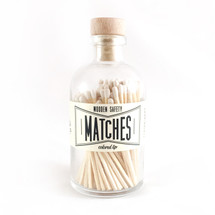 Apothecary Vintage White Matches