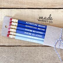 Baby Boy Pencil Set