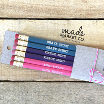 Brave Spirit Pencil Set