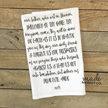 The Lords Prayer Tea Towel