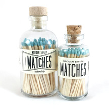 Teal Matches Apothecary Vintage