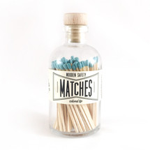 Apothecary Vintage Teal Matches