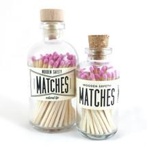 Fuchsia Matches Apothecary Vintage