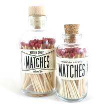 Maroon Matches Apothecary Vintage