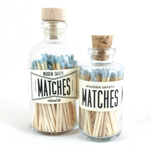Powder Blue Matches Apothecary Vintage