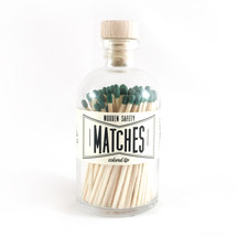 Apothecary Vintage Olive Green Matches