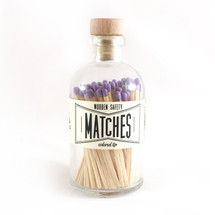 Apothecary Vintage Lavender Matches