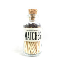 Apothecary Vintage Brown Matches Small