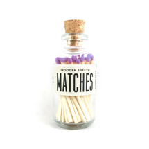 Apothecary Vintage Lavender Matches Small
