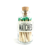 Apothecary Vintage Green Matches Small