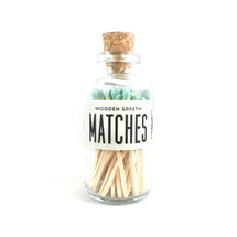 Apothecary Vintage Mint Matches Small