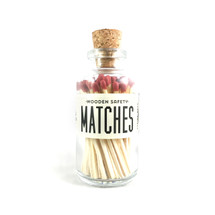 Maroon Matches Apothecary Vintage Small