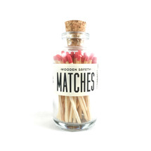 Apothecary Vintage Red Matches Small