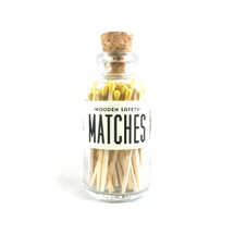 Apothecary Vintage Yellow Matches Small