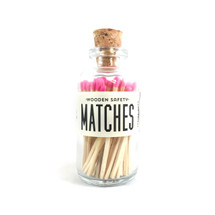Apothecary Vintage Pink Matches Small