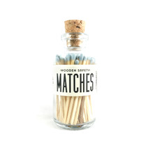 Powder Blue Matches Apothecary Vintage Small