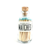 Apothecary Vintage Teal Matches Small