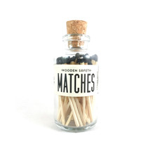 Apothecary Vintage Black Matches Small