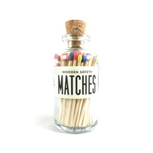 Rainbow Matches Apothecary Vintage Small