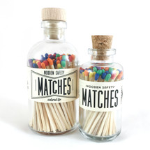 Rainbow Matches Apothecary Vintage