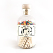 Apothecary Vintage Rainbow Matches
