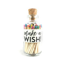 A Happy Birthday MAKE A WISH Apothecary Vintage Small