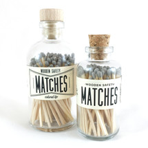 Gray Matches Apothecary Vintage