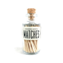 Apothecary Vintage Gray Matches Small