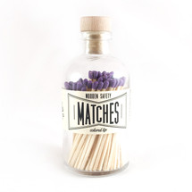 Apothecary Vintage Purple Matches