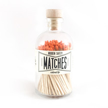 Apothecary Vintage Orange Matches
