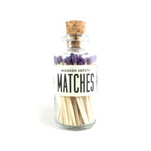 Purple Matches Apothecary Vintage Small