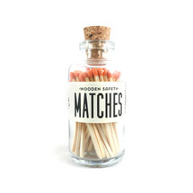 Apothecary Vintage Orange Matches Small