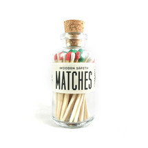 Apothecary Vintage Seasonal Christmas Matches Small