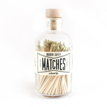 Apothecary Vintage Gold Matches