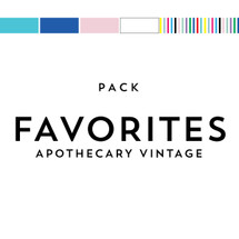 Favorites Pack Matches Apothecary Vintage