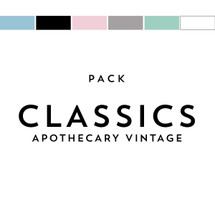 Classics Pack Matches Apothecary Vintage