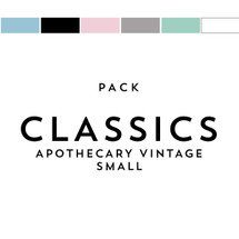 Classics Pack Matches Apothecary Vintage Small