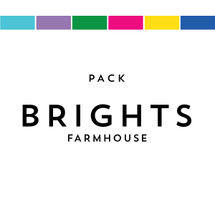 Brights Pack Matches Farmhouse