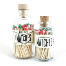 Christmas Matches Apothecary Vintage