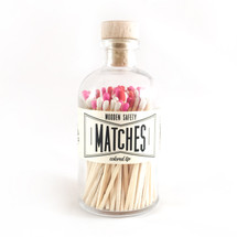 Apothecary Vintage Seasonal Valentine's Matches