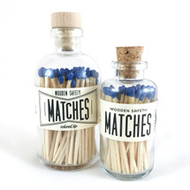 Blue Matches Apothecary Vintage