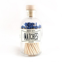 Apothecary Vintage Blue Matches