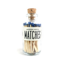 Blue Matches Apothecary Vintage Small