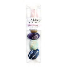 Light Your Way Polished Healing Crystals Set