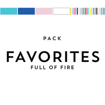 Favorites Pack Matches Full of Fire