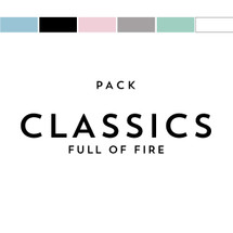 Classics Pack Matches Full of Fire