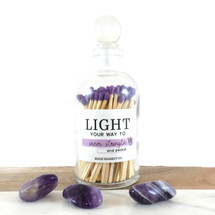 Light Your Way To...Purple Matches